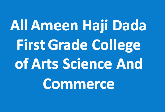 AAHDFGCASC-All Ameen Haji Dada First Grade College of Arts Science And Commerce