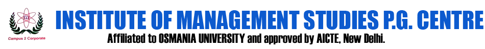 IMSPGC-Institute Of Management Studies PG Centre