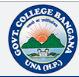 GC-Government College Bangana
