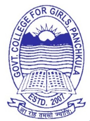GCG-Government College For Girls Panchkula