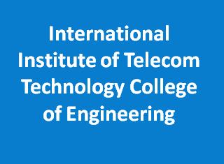 IITTCE-International Institute of Telecom Technology College of Engineering