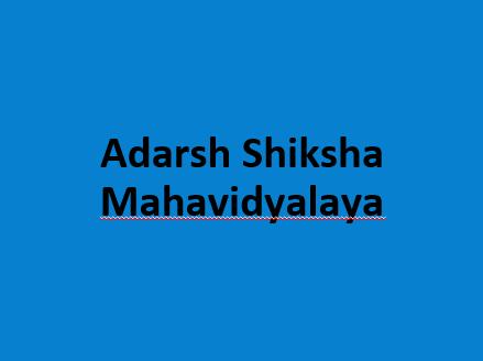 ASM-Adarsh Shiksha Mahavidyalaya