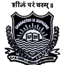 KPBHCCE-K P B Hinduja College of Commerce and Economics