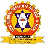 BGIET-Bhai Gurdas Institute of Engineering and Technology