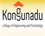 KCET-Kongunadu College of Engineering and Technology