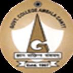 GPGC-Government Post Graduate College Ambala Cantt