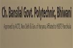CBGP-Ch Bansilal Govt Polytechnic