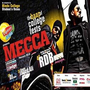 Hindu College annual fest- Mecca 2012