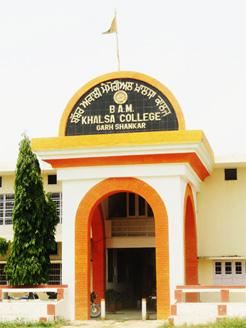 B A M Khalsa College