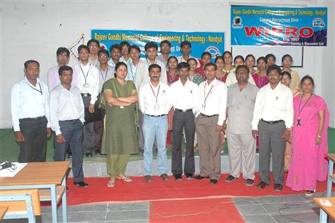 Rajeev Gandhi Memorial College of Engineering Achievements