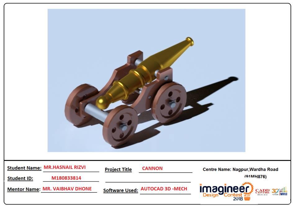 CANNON - AUTOCAD 3D MECHANICAL