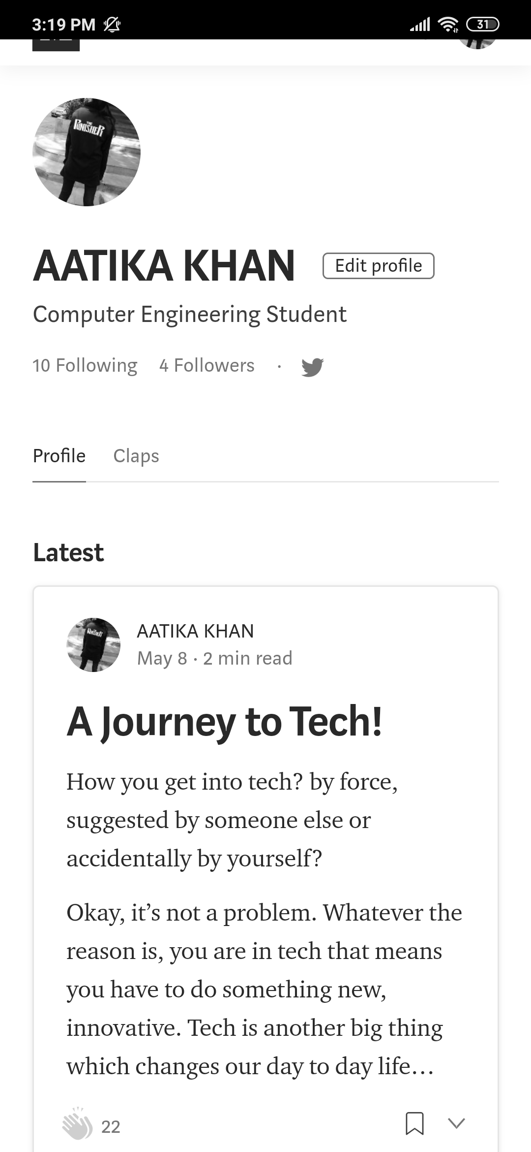 A journey to tech