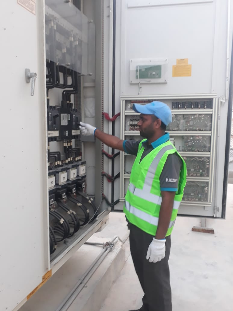 Operating chiller