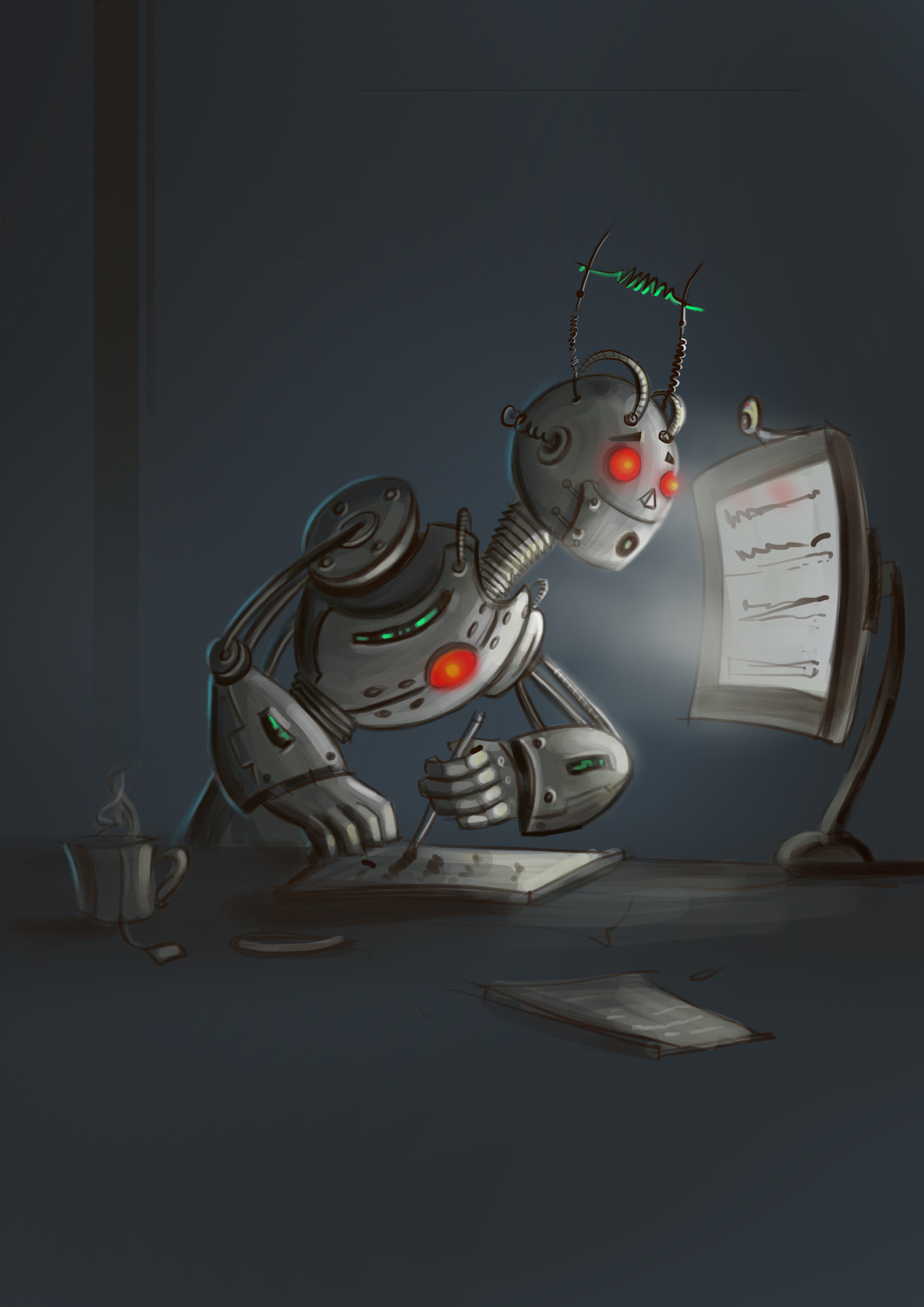 Robotic Character Designs
