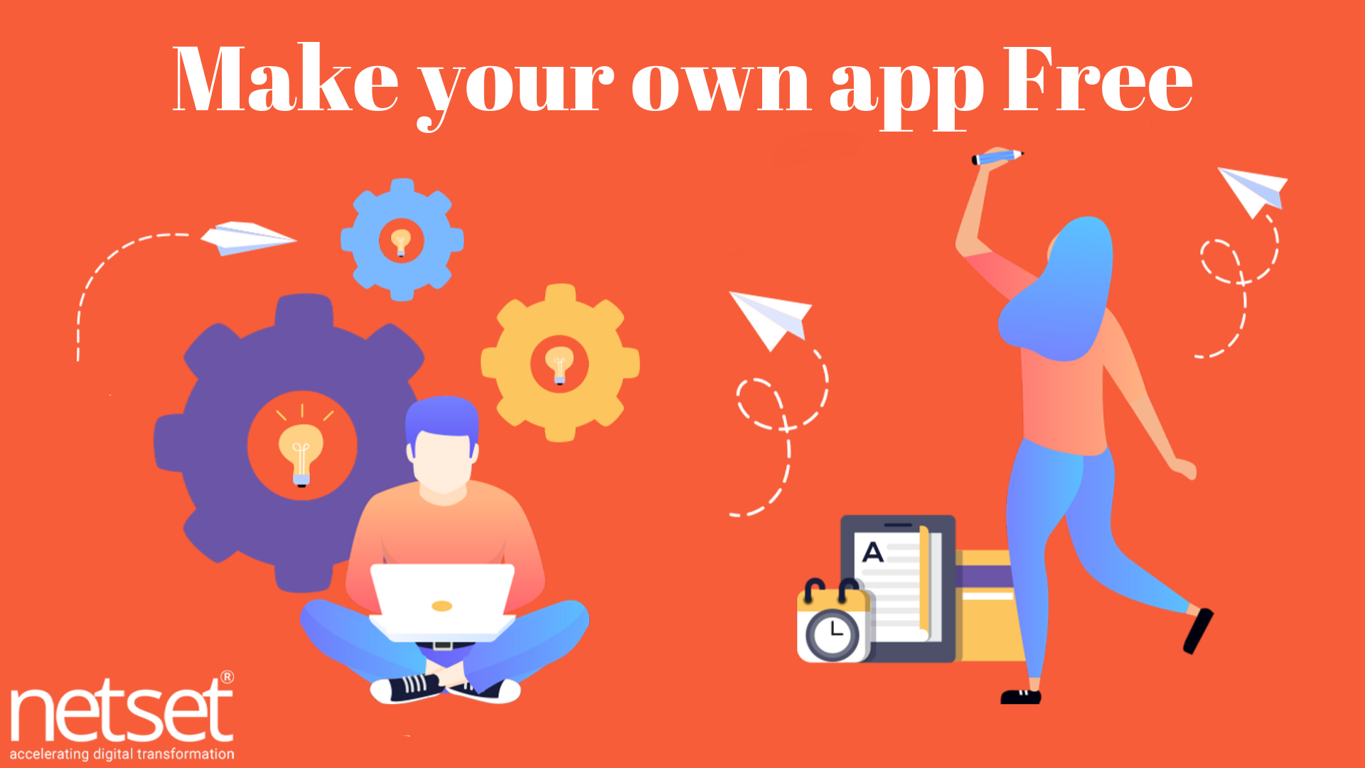 Make your own app Free - Netset Software Solutions