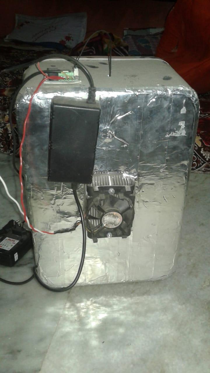 Thermoelectric mini freezer