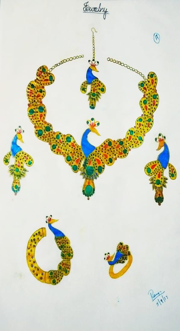Kundan stones jewelry
