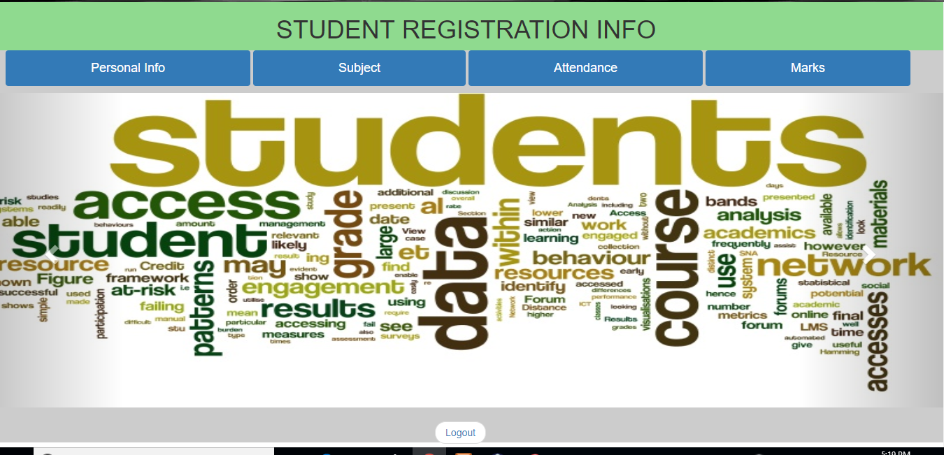 Student Information System Academic Project