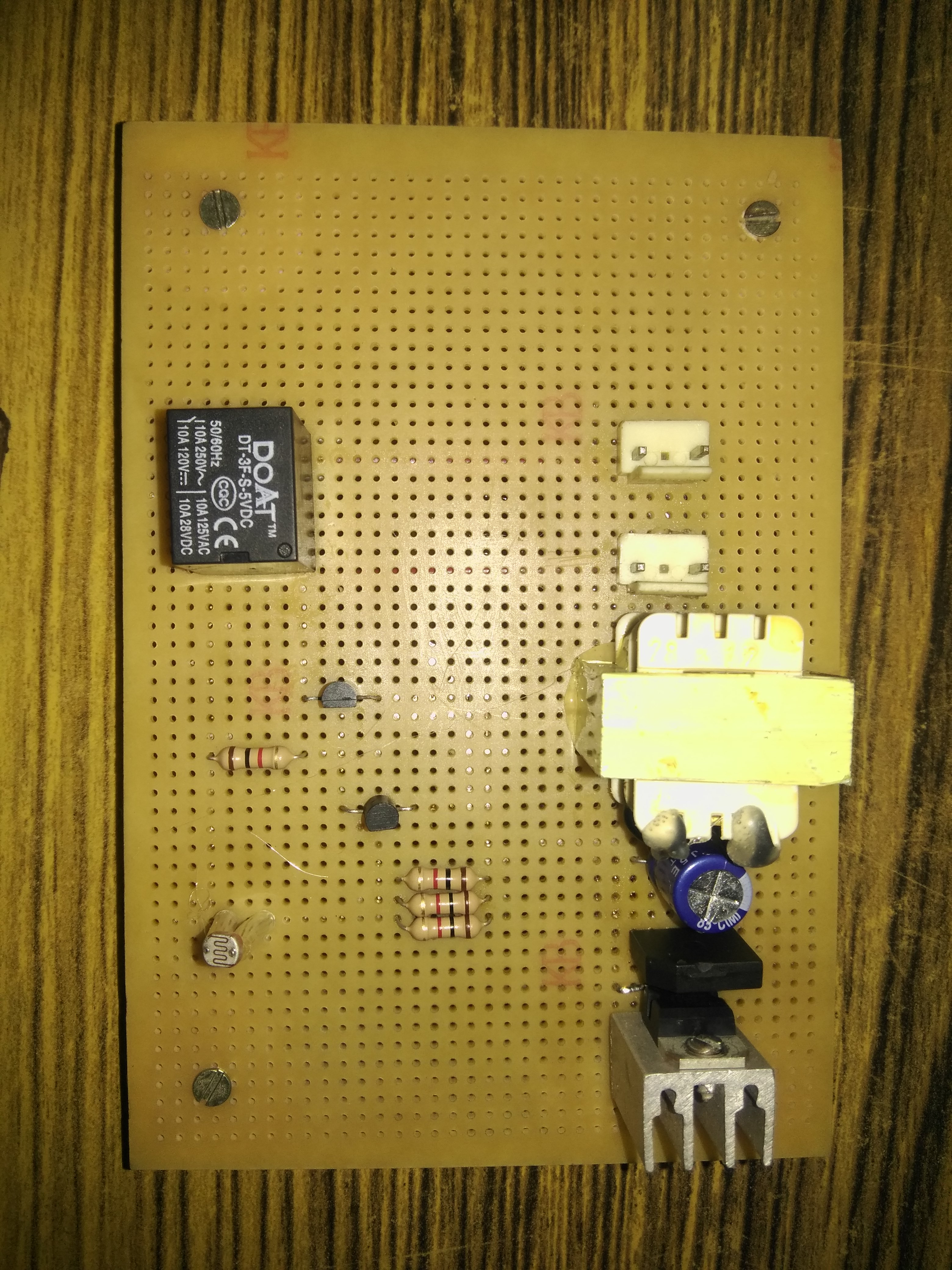 Automated Light Switching Using LDR