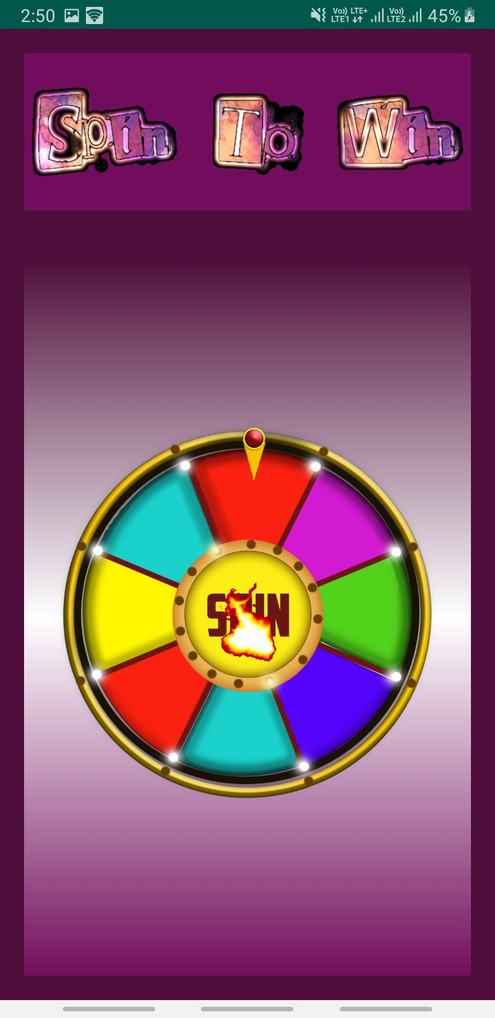 SpinWheel Android app