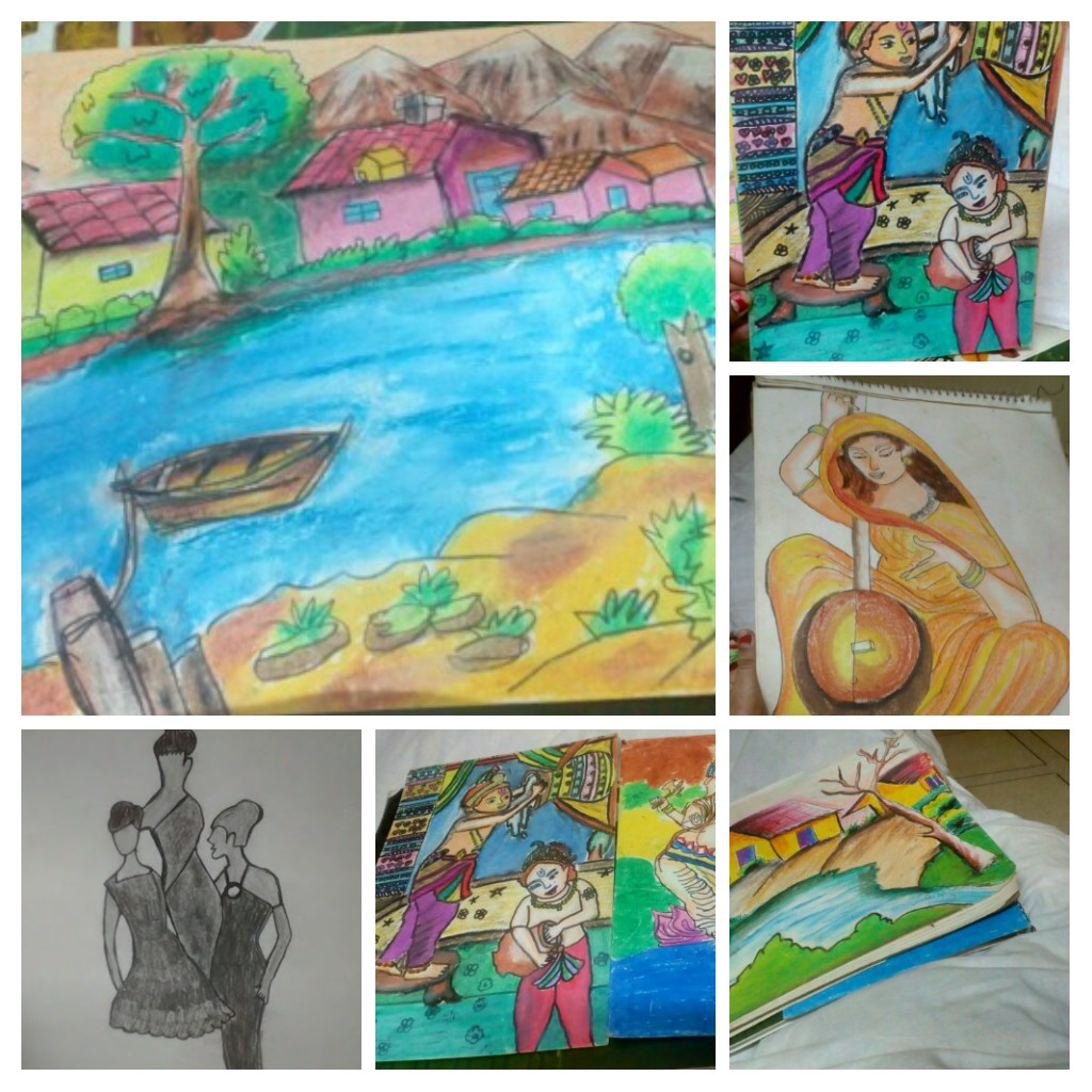 It's my hand made colourful pictures