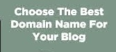Domain Name for a BLog