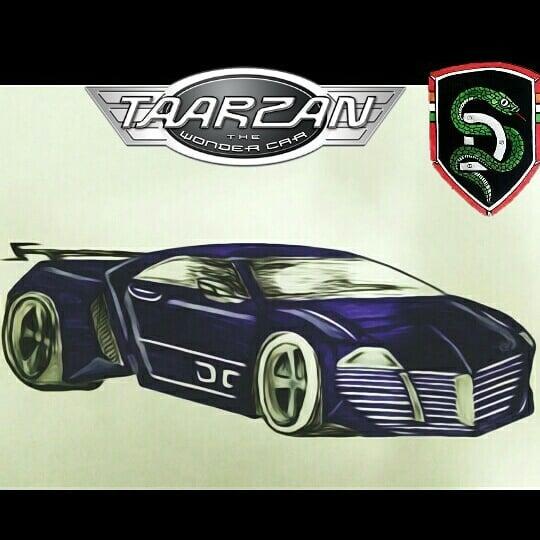 Tarzan dwndr CAR