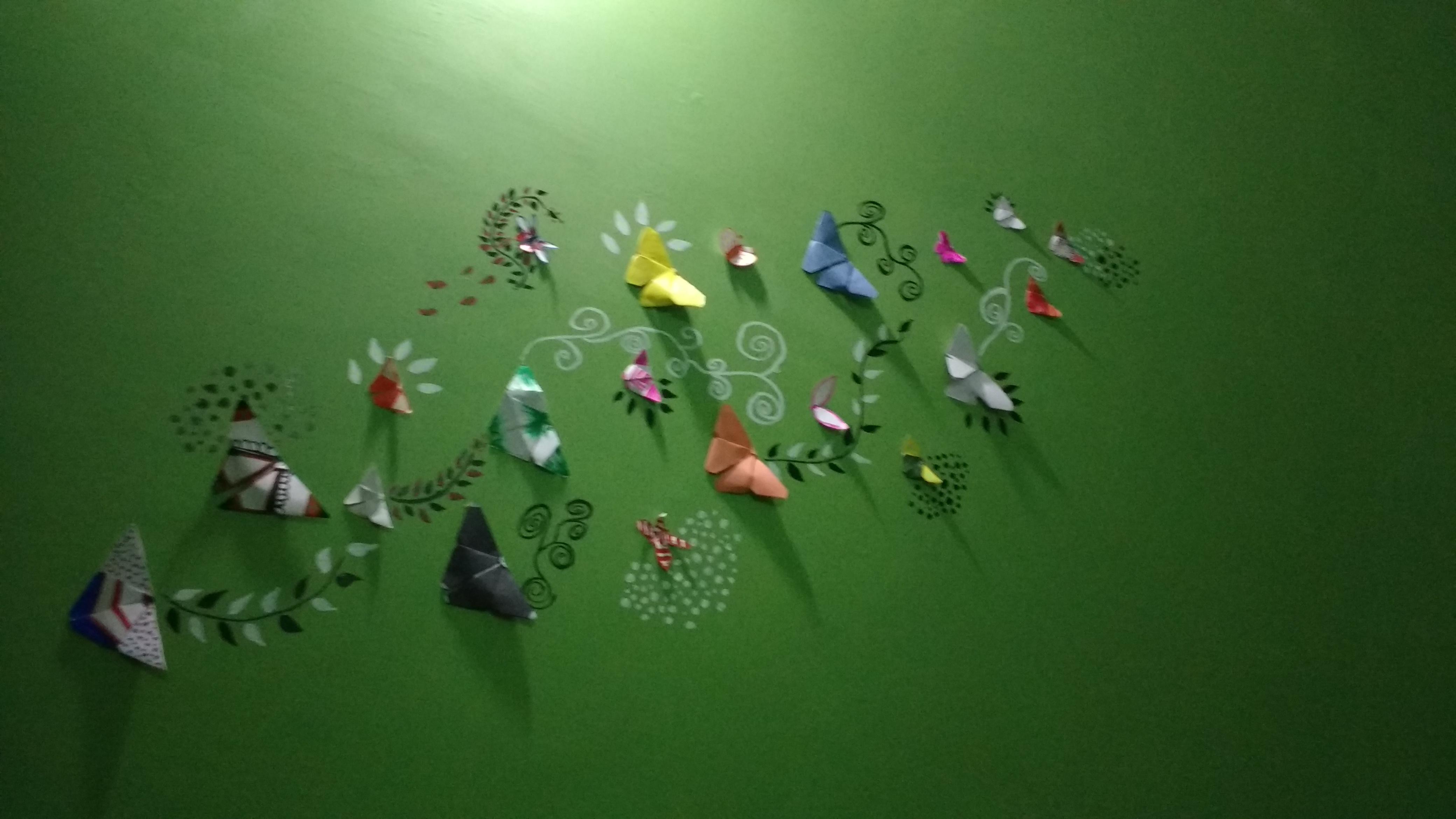 Wall creativity