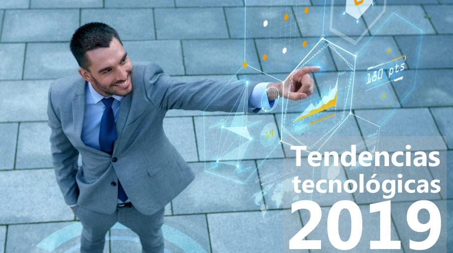 Las cinco tendencias tecnológicas para 2019