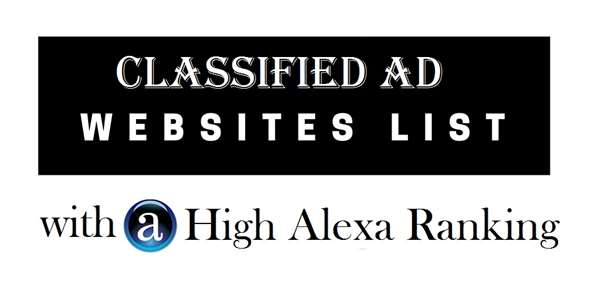 High Alexa Rank Classified Submission Site 2017