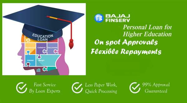 Get a Personal Loan for Higher Education