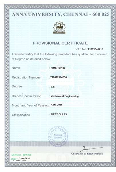 Provisional Certificate Youth4work Blogs
