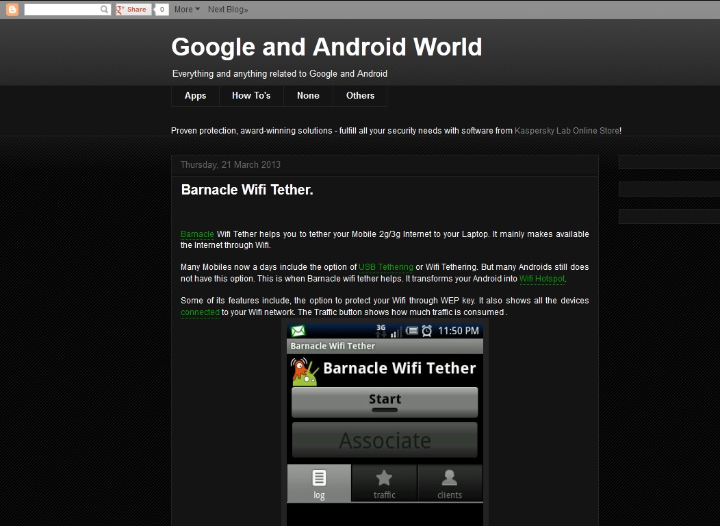 Google and Android World
