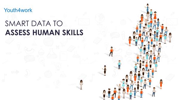 Smart data to assess human skills