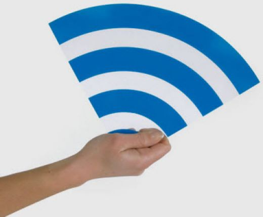 Turn your laptop into a wifi hotspot