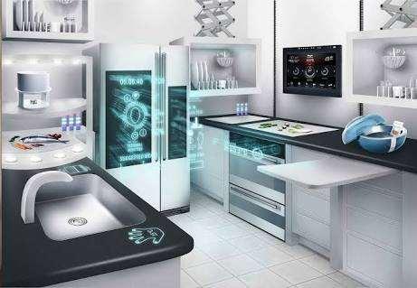 Future kitchen room