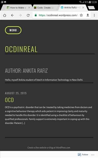 OCD informative