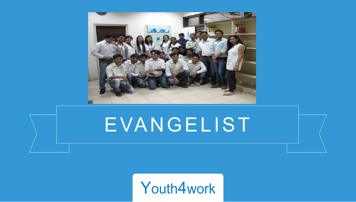 Evangelist at Youth4Work