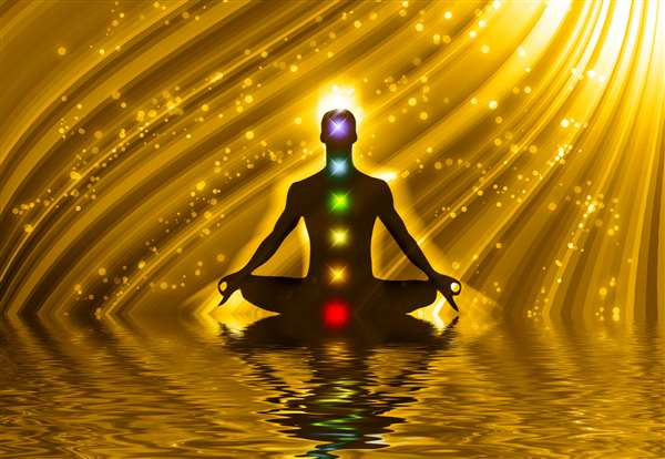 Meditation is the art of living happily and contently