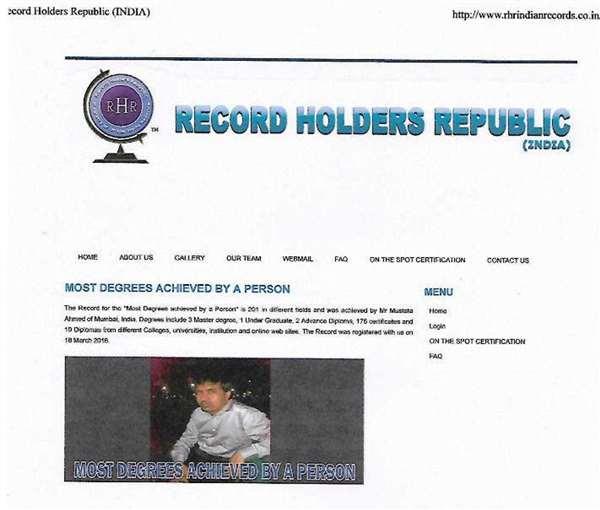 RHR WEB SITES
