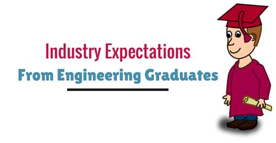 Expectations of industry from Engineering Graduates.