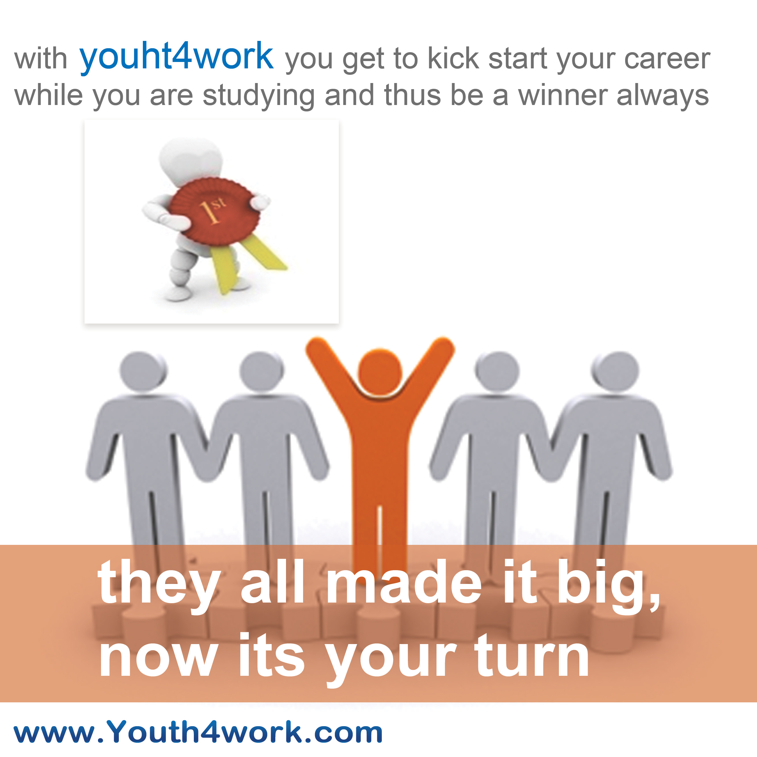 KICK START YOUR CAREER WITH YOUTH4WORK