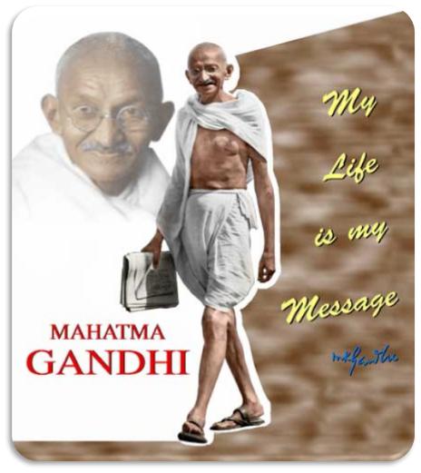 Is Gandhi still alive...?