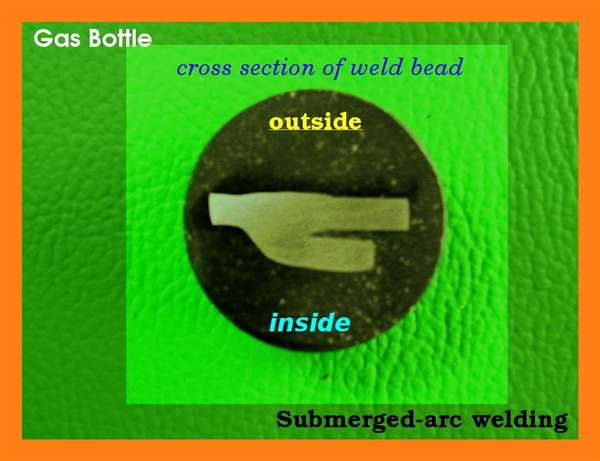 Gas Bottle - Submerged-Arc Welding -