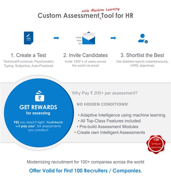 Youth4work Custom Assessments