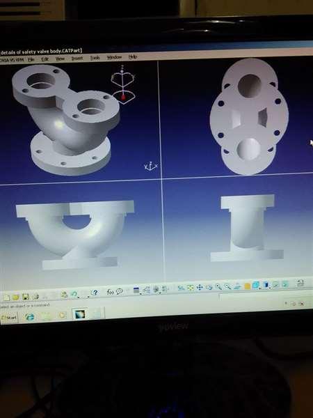 safety valve body