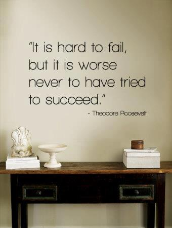 keep on try until you touch a success