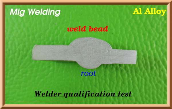 Mig Aluminum - Welder Qualification Test