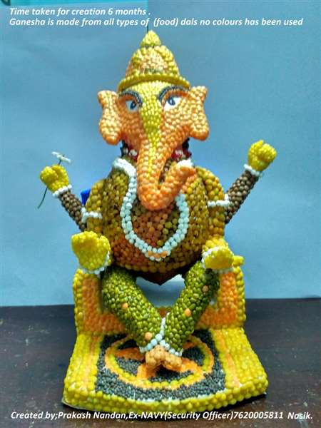 This Lord Ganesha made by me