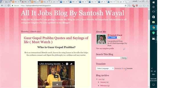 All It Jobs Blog By Santosh Wayal